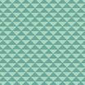Hazel Dark and Light Turquoise Triangles
