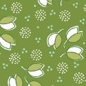Hazel Little Petals on Green