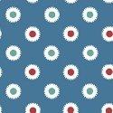 Hazel Dots on Blue