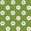 Hazel Dots on Green