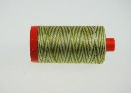 *Aurifil Cotton Mako Thread Greens 12wt Variegated