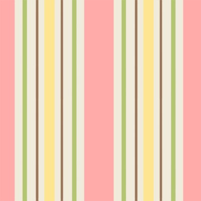 You Whoo yellow pink and green stripe