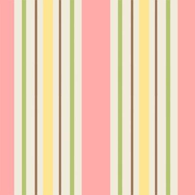 *You Whoo! yellow pink green stripe