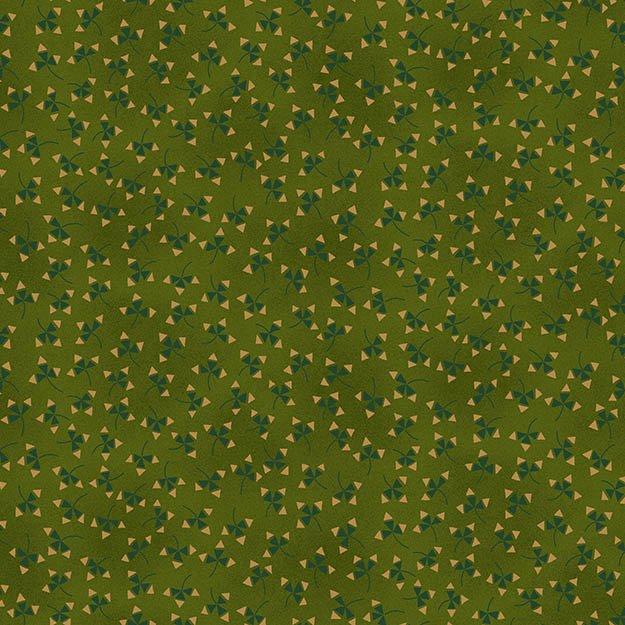 Winter Blessings by Kim Diehl Geometric on Green