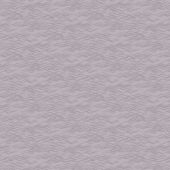 Composition Purple Tonal Wavy Lines