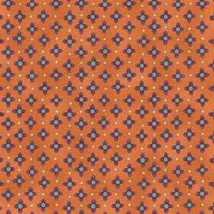 Love To Garden blue and purple diamonds on orange