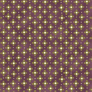 Love To Garden yellow and green geometric on purple