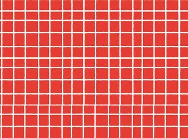 Stomp white grid on red
