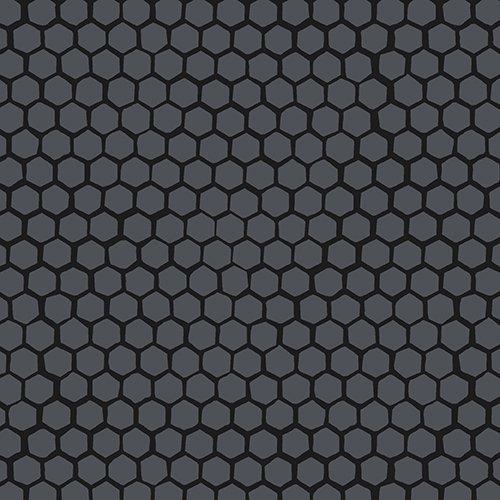 *Moon Shadow black honeycomb tonal