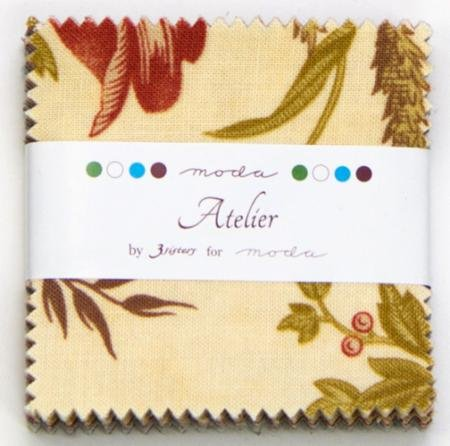 *Atelier by 3 Sisters Mini Charm