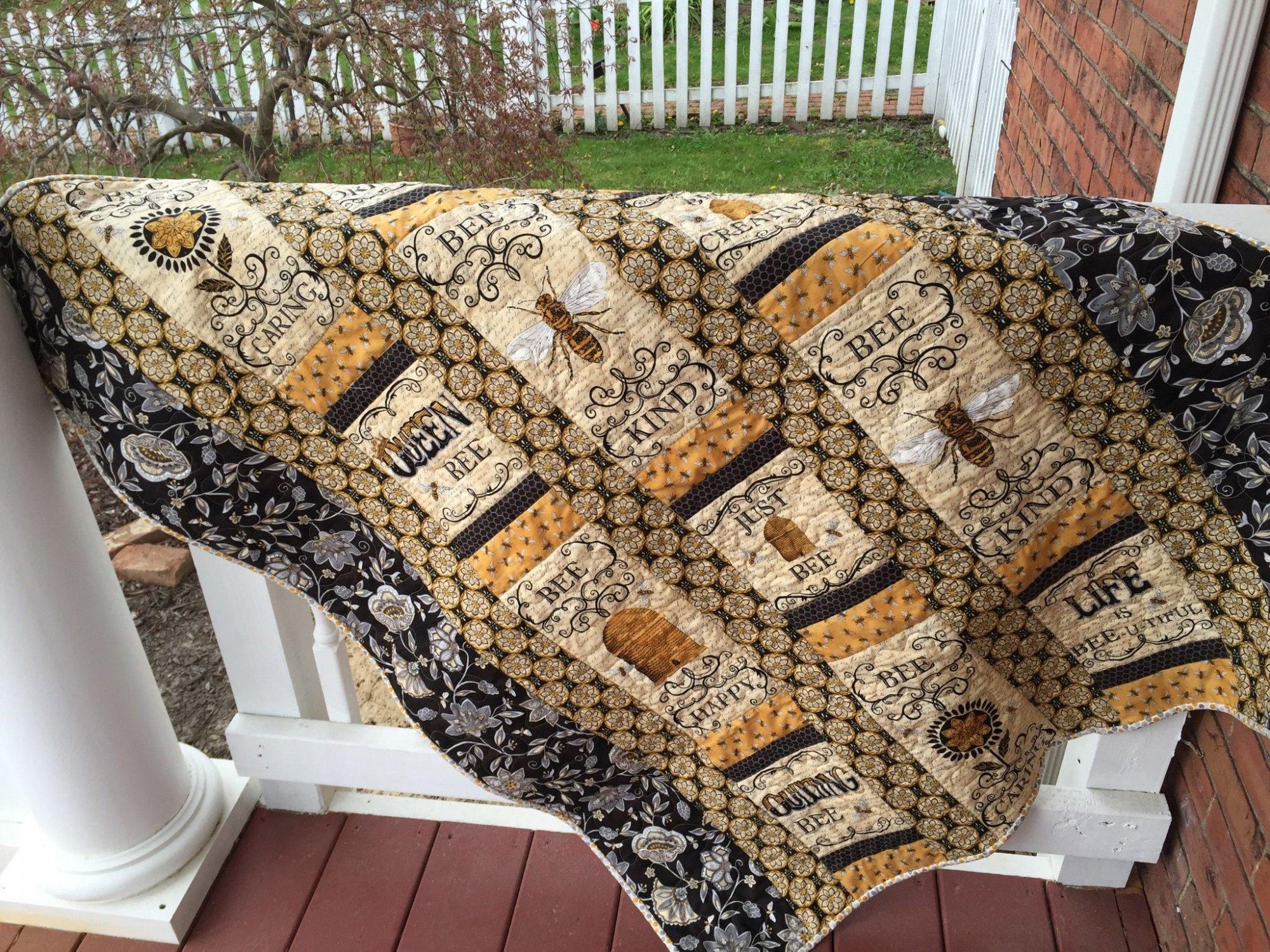 Bee lieve in yourself quilt kit solutioingenieria Gallery