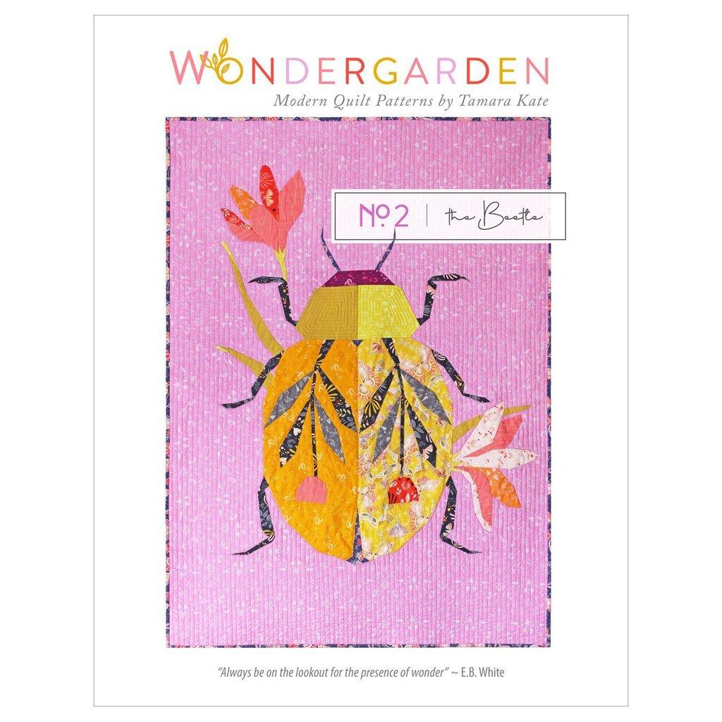 Wonder Garden No. 2 the Beetle pattern by Tamara Kate
