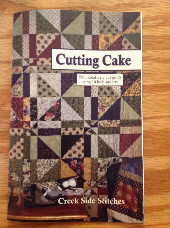 *Cutting Cake by Creek Side Stitches