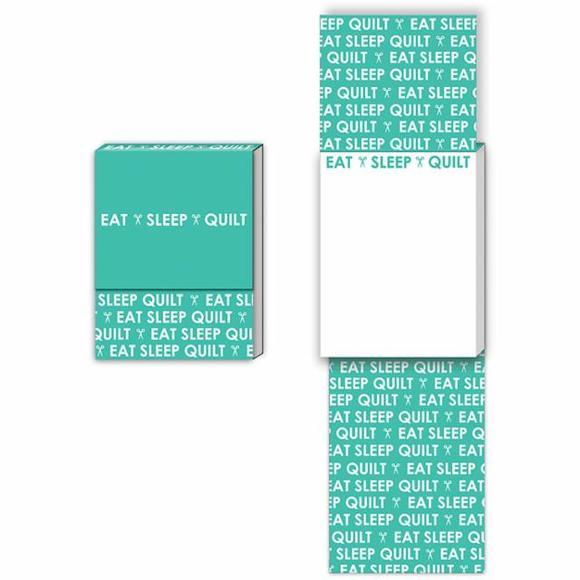 Eat Sleep Quilt Pocket Notepad