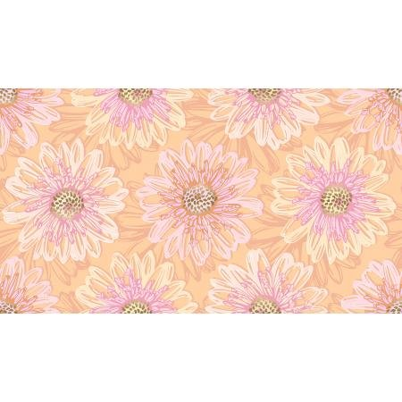 *Shiny Objects Good As Gold Embossed Blooms Rose Gold Metallic