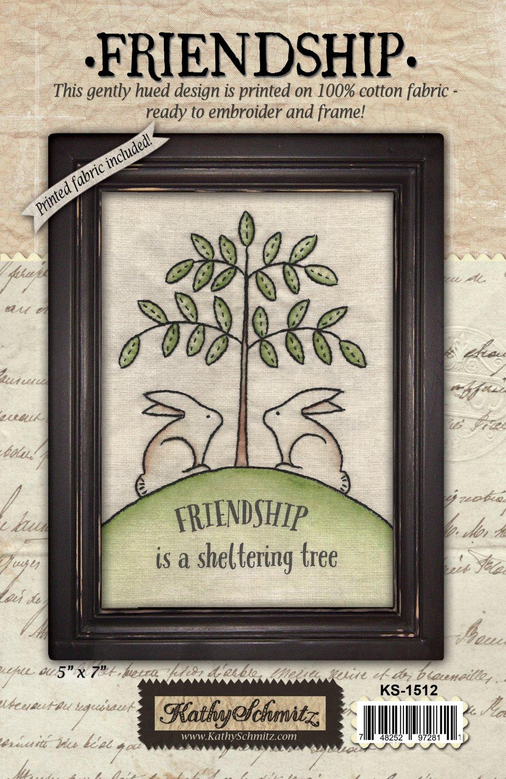 Friendship By Kathy Schmitz