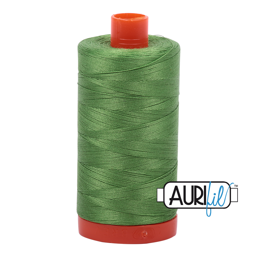 Aurifil Cotton Mako Thread Grass Green 12wt 50m (1114)