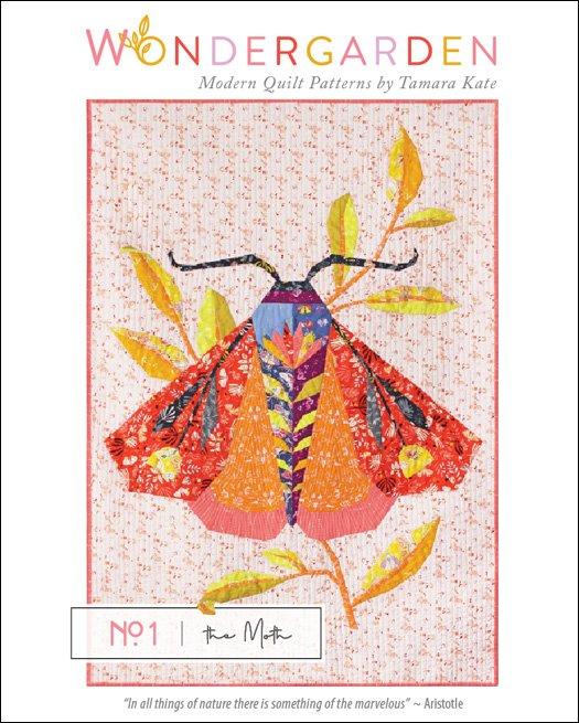 Wonder Garden No. 1 the Moth by Tamara Kate kit (no backing)