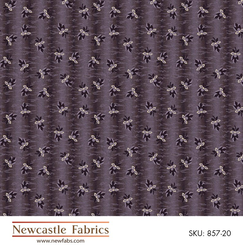 Mourning Grays small print onlavender