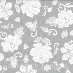 *Simply Eclectic Fog Floral