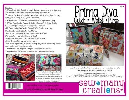 Prima Diva Wallet Pattern