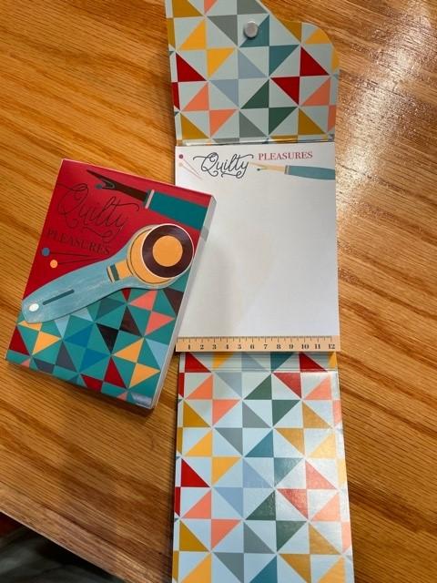 Quilty Pleasures Pocket Notepad
