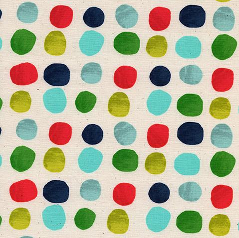*NOEL Painted Dots Blue
