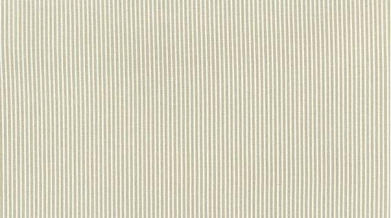 Pinstripe cream and white