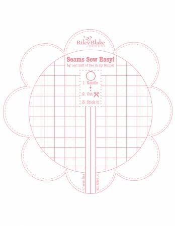 Seams Sew Easy Seam Guide by Lori Holt - Pink