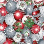 *All That Glitters Mist/Silver christmas ornaments