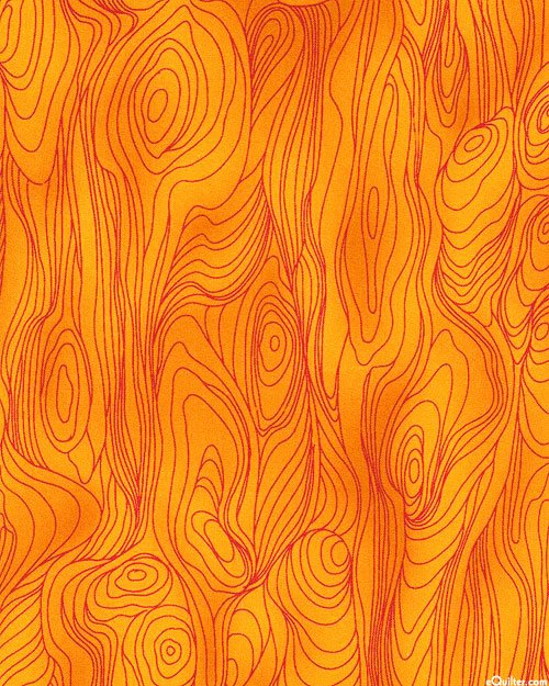 Friends in Wild Places orange bark tonal