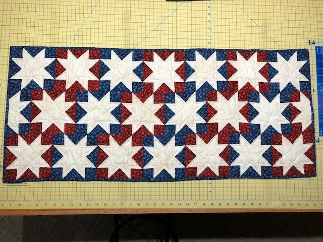 Yankee Doodle Table Runner Kit