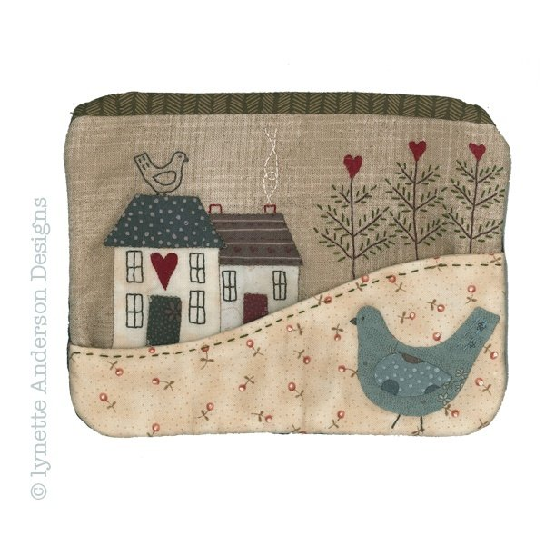 Country Cottage Purse