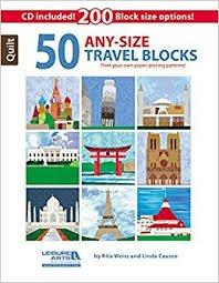 50 Any Size Travel Blocks