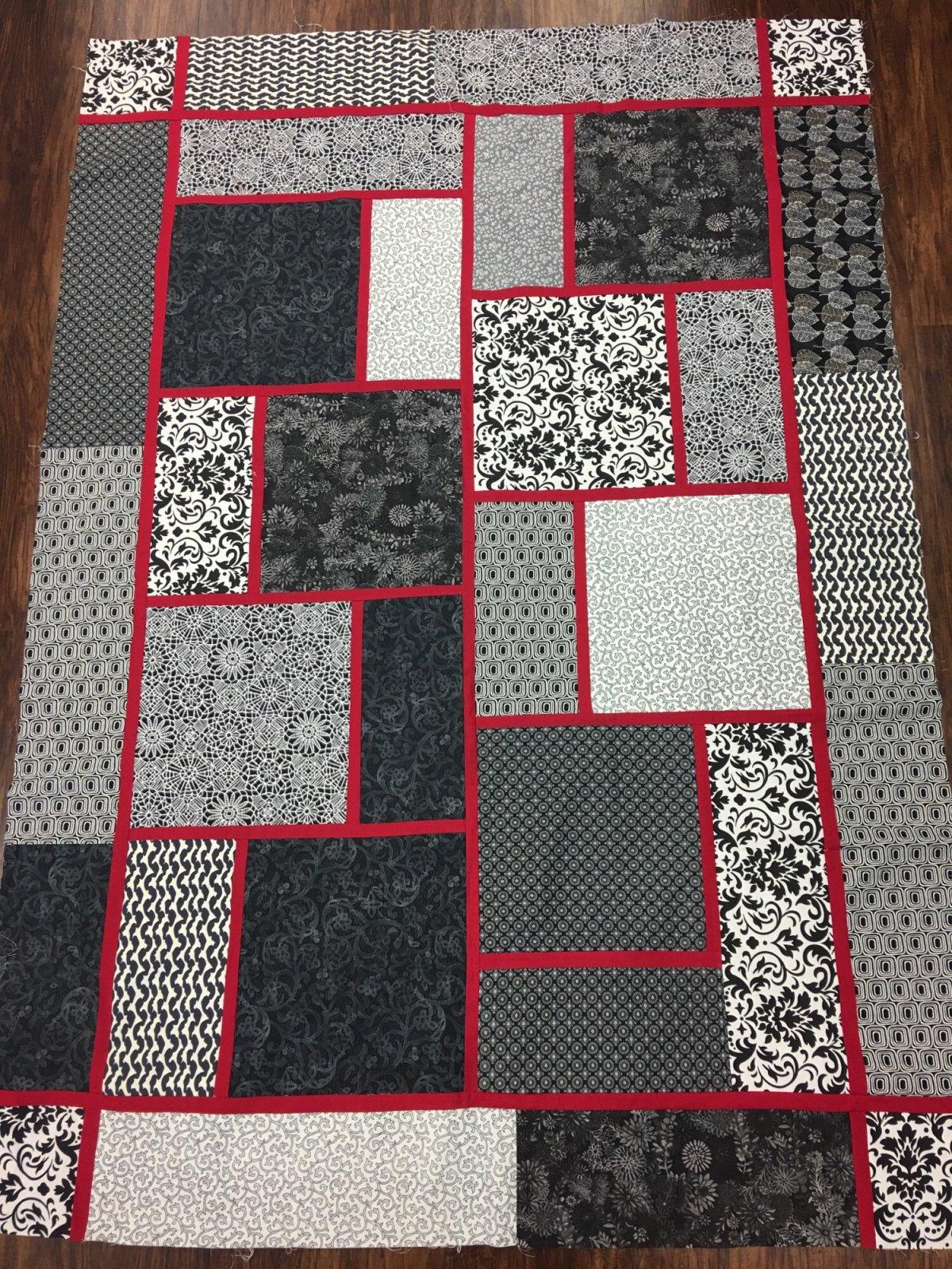 The Big Block Quilt Top