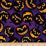 Jack-O-Lanterns BTY purple