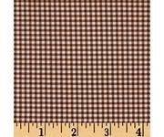Nature Friends Light Brown Gingham Check