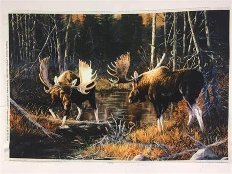 Magestic Moose Panel