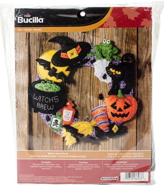 Bucilla Witch's Brew Wreath