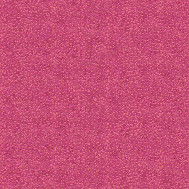 Shimmer - Hibiscus 6 Dark Pink Little Dots