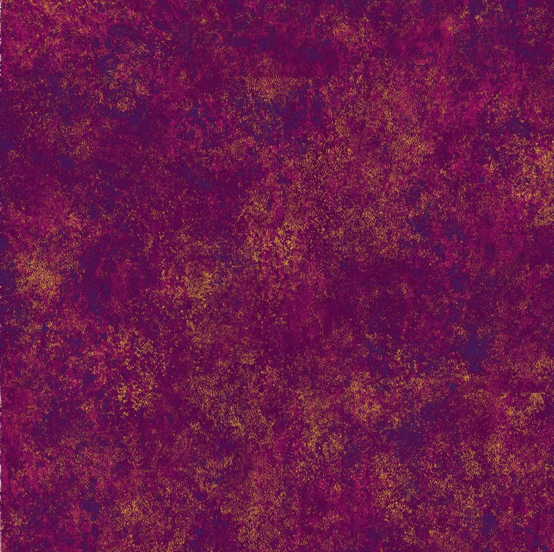 Shimmer - Hibiscus 9 Dark Pink with Gold
