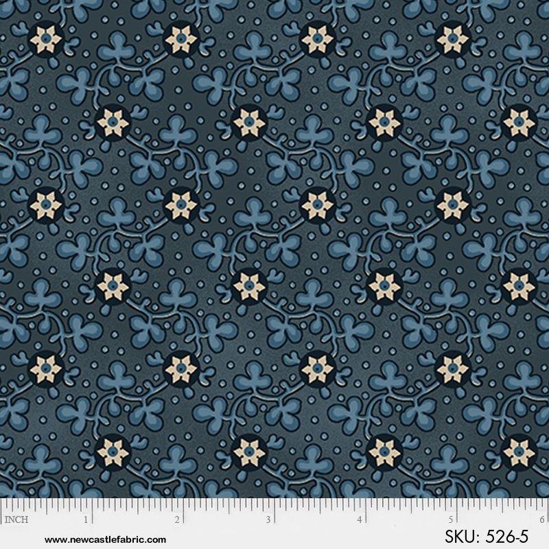 Civil War Album Floral Blue