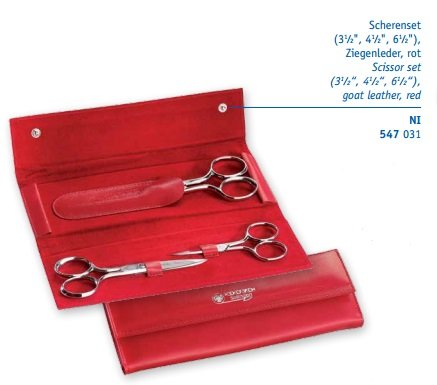 Scissor Set (Red)