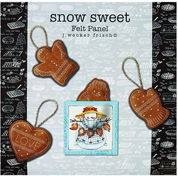 Snow Sweet - 24 Felt Panel