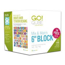 Accuquilt GO! 55775 Qube Mix & Match 6 Block