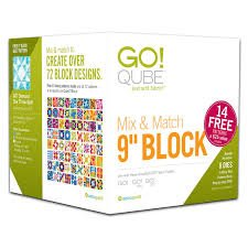 Accuquilt GO! 55777 Qube Mix & Match 9 Block