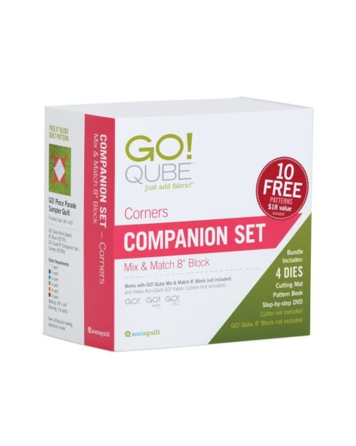 Accuquilt GO! 55785 Qube 8 Companion Set-Corners
