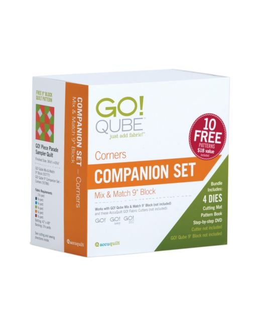 Accuquilt GO! 55786 Qube 9 Companion Set-Corners