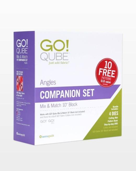 Accuquilt GO! 55799 Qube 10 Companion Set-Angles