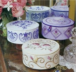 Angie Spong Trinket Box Project